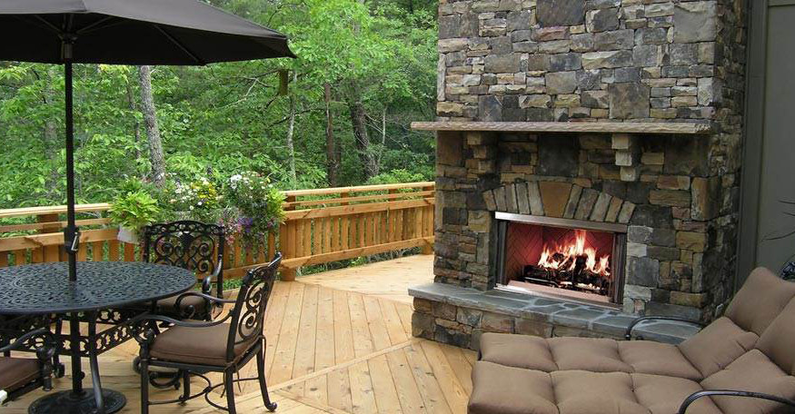 - Outdoor Fireplaces - Fireplace Creations