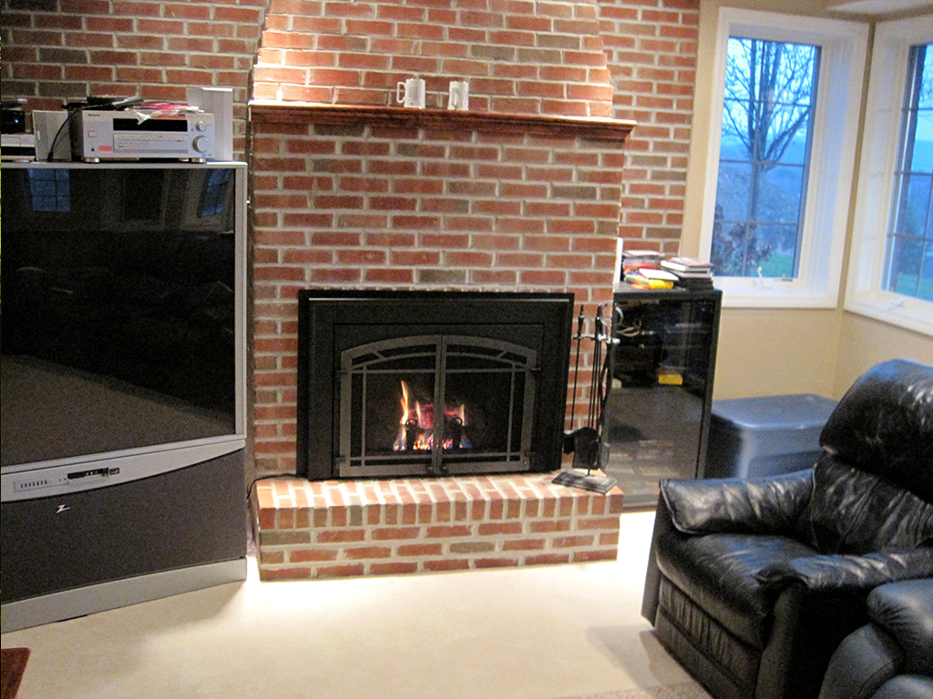 Vented Gas Inserts Fireplace Creations