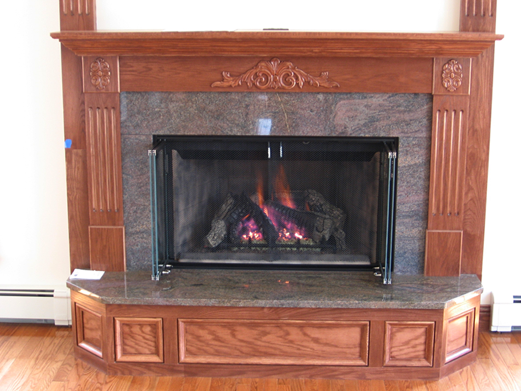 Vented Gas Logs Fireplace Creations